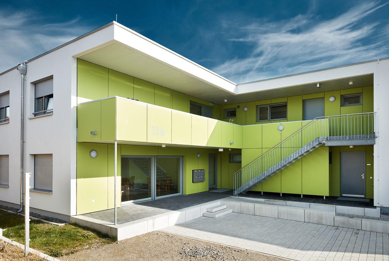 Fl chtlingsgeb ude in laurchingen architekt kaiser for Architekt voraussetzungen
